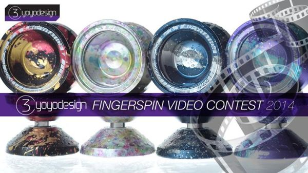 C3YoYoDesign Finger Spin Contest