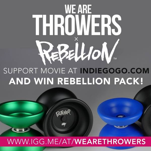 We Are Throwers Rebellion Givewaway