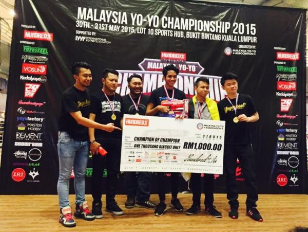 2015 Malaysia YoYo Championship