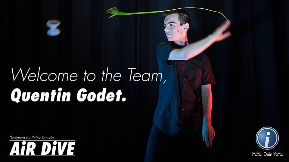 Quentin Godet Joins iYoYo