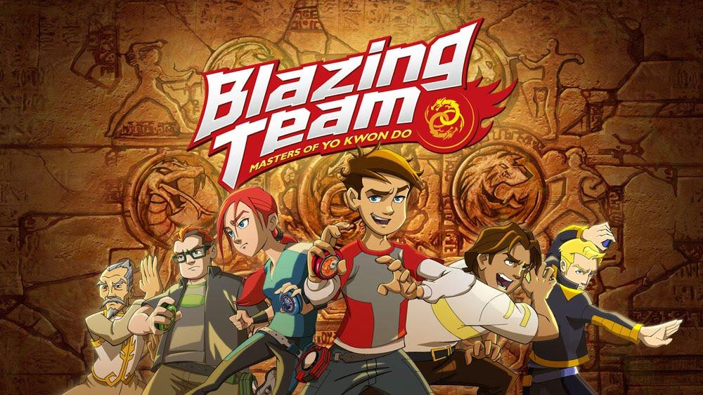 Hasbro Auldey Blazing Team
