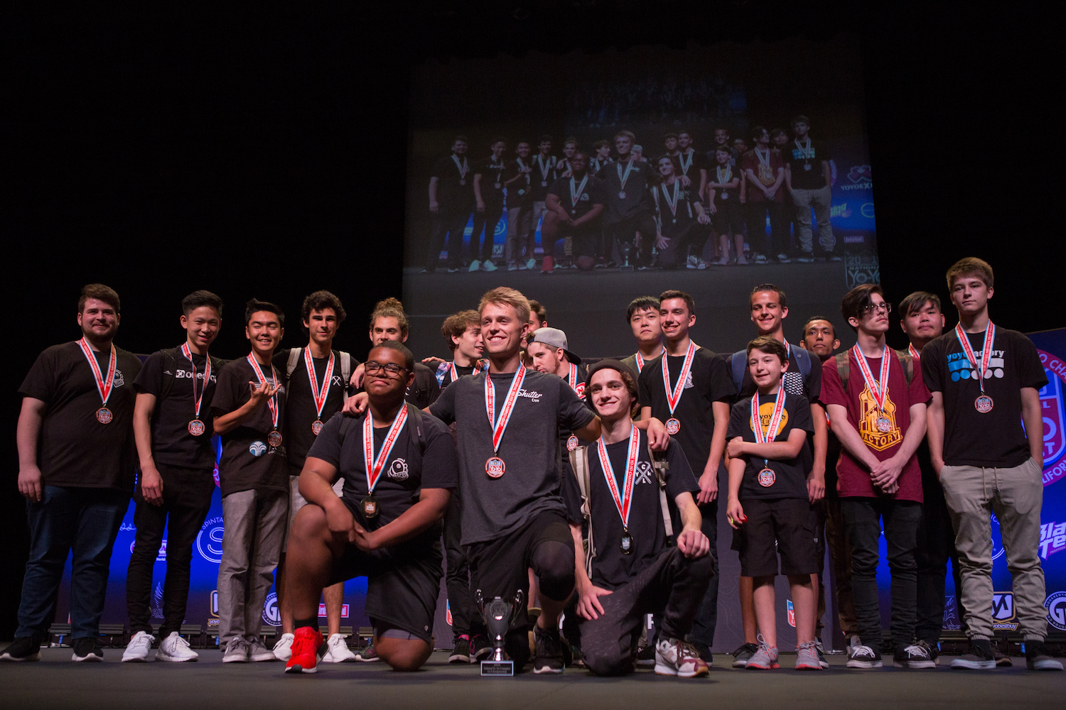 2016 US National YoYo Contest 1A Winners / Photo by Alec Campbell
