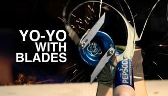 Razor Blade YoYo Footage Is Terrifying But Satisfying