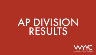 2018 World YoYo Contest – AP Division Results