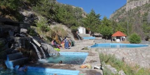 Mexique- Creel et ces therme. Eaux chaudes à plus de 35°c en pleine montagne