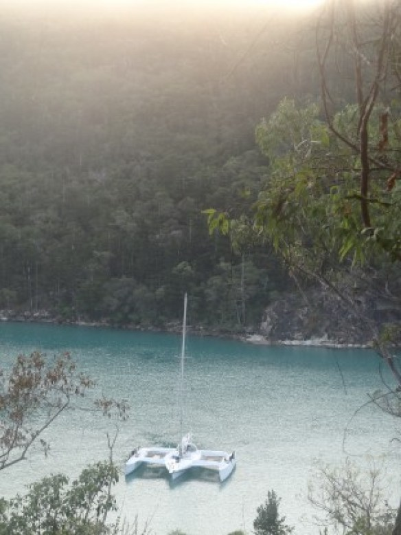 Australie- Whitsunday: Et be le voila le catamaran!!!