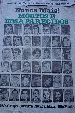 Bresil-Sao Paulo. Cet article part de cette affiche. En marchant je tombe nez a nez sur cela. Il ne faut pas etre devin, j´ai compris. Helas, il y a les meme en Argentine, au Chili et Guatemala...