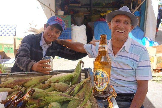 Peru-Huaraz: Les amis d'abords.