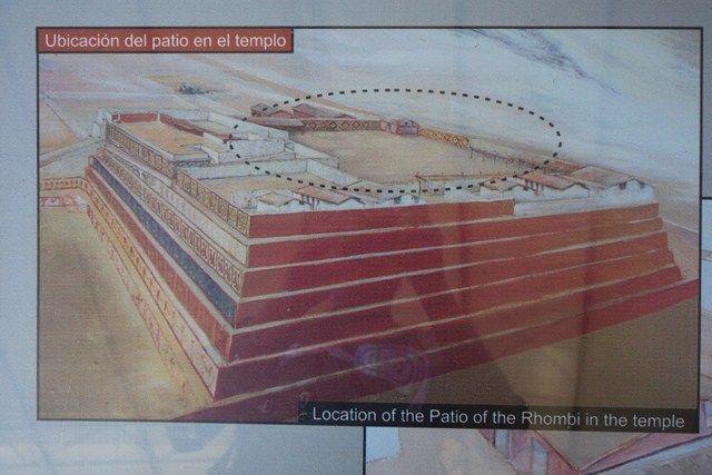 Perou- Huaca de la Luna: Une photo de synthese de ce qu'etait le Temple de la Lune.