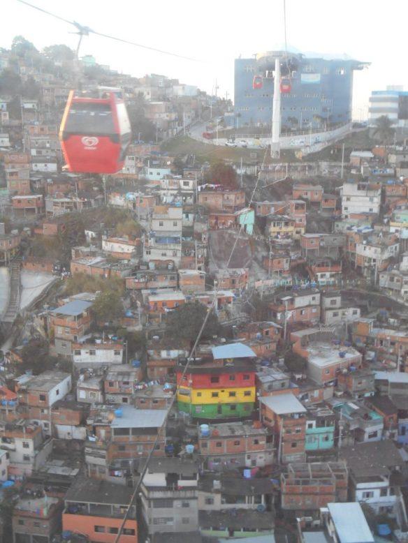 Bresil-Rio de Janeiro: Favela Complexo do Alemão