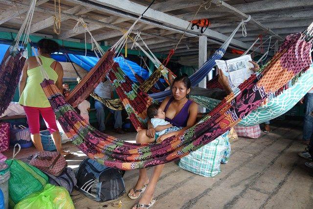 Pérou: Après Yurimaguas, je prend le bateau; Direction Lagunas pour rejoindre un Parc National