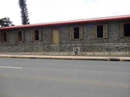 Nouvelle-Caledonie: Le musée de Bourail.