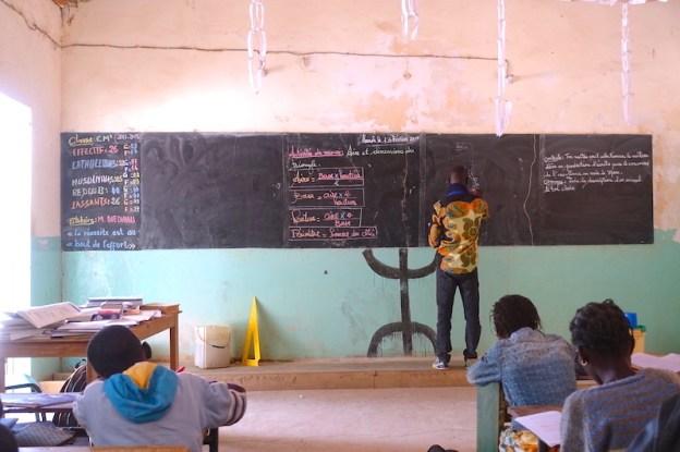 Vision d'une classe de CM2 à Mar Lodj (Ecole privée) blog voyage tour du monde https://yoytourdumonde.fr