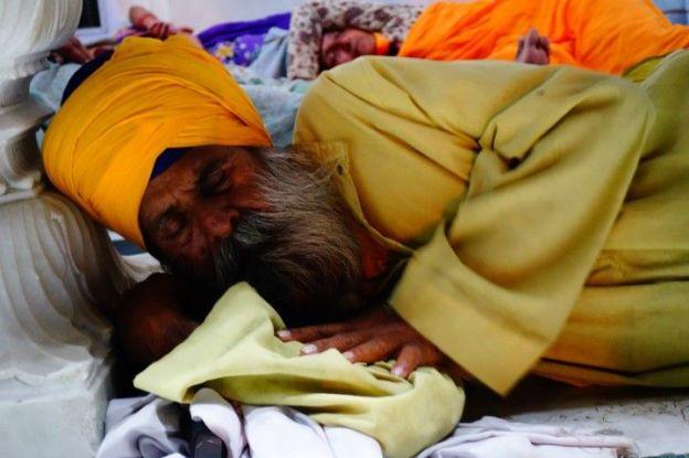 Portrait d'un sikh à Amritsar photo blog tour du monde https://yoytourdumonde.fr