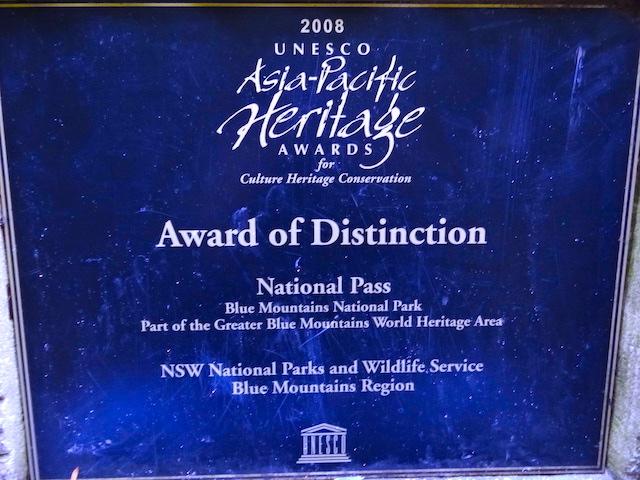 Les Blue Mountains sont inscrit au patrimoine mondial en Australie photo blog voyage tour du monde https://yoytourdumonde.fr