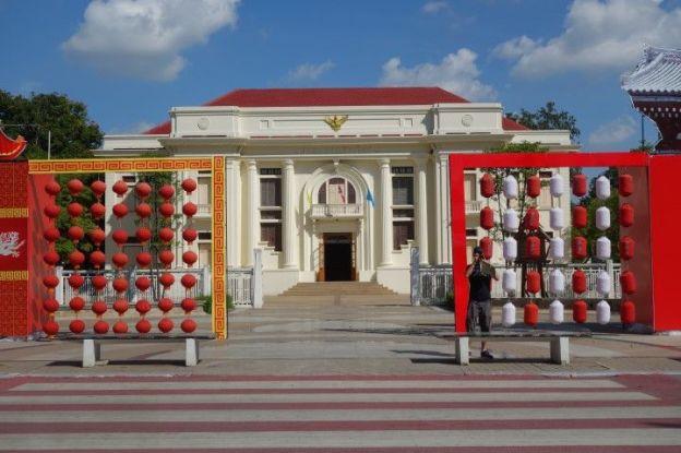 Nous quittons l'univrs magnifiques des temples bouddhistes pour vous presenter le centre culturel de la ville de Chiang Mai.