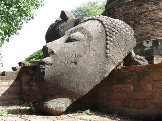 thailande-ayutthaya-travelling-voyage-bouddha-tete