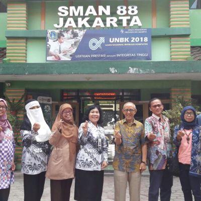 MoU D4L dengan SMAN 88