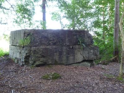 Duitse bunker WW I in Twaalfmetenbos Hollebeke - German bunker at Hollebeke - Abri allemagne à Hollebeke ©YRH2016