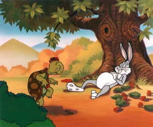 Cerita Inspiratif: Kisah Kura-Kura dan Kelinci