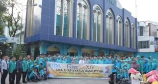 Ketua Umum YPSA Melepas Siswa-siswi Kelas XI SMA Homestay XIV Ke Simalungun