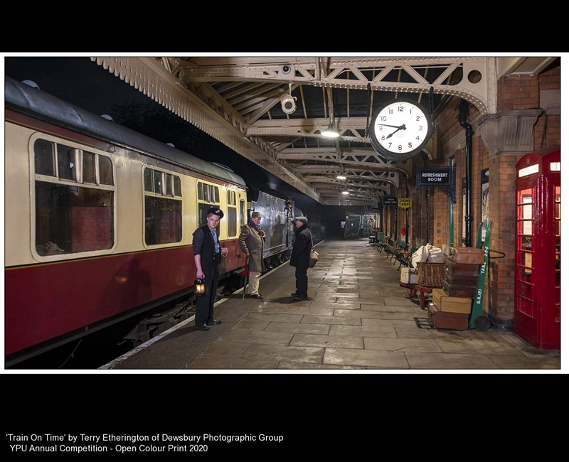 Dewsbury Photographic Group_Terry Etherington_Train On Time