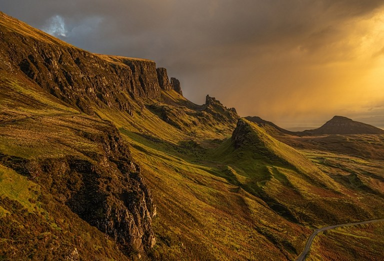 WEST24187_John Rutherford_First Light on the Quiraing_800px