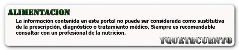 aviso alimentacion