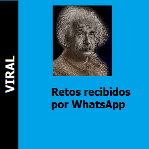 Retos recibidos por WhatsApp