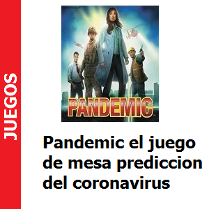 Pandemic el juego de mesa prediccion del coronavirus