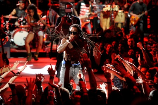 MTV2 Lil Wayne Unplugged 7 Photo credit Frank Micelotta 540x359 - Lil Wayne Goes Unplugged