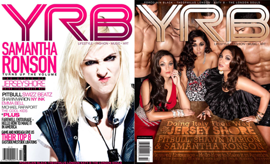 "COVERS2 - Cover: The Girls Of The ""Jersey Shore"" & Samantha Ronson"
