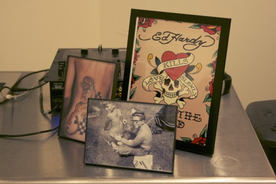EH11 540x360 - Event Recap: Ed Hardy Tattoo The World at I-20 Gallery