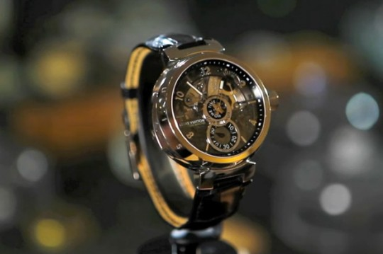 nowness louis vuittons new timekeeper 0 540x359 - Louis Vuitton's The Tambour Minute Repeater