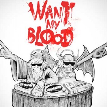 "kickdrums 350x350 - The KickDrums - ""Want My Blood"" Ft. Rockie Fresh & DZ Deathrays"