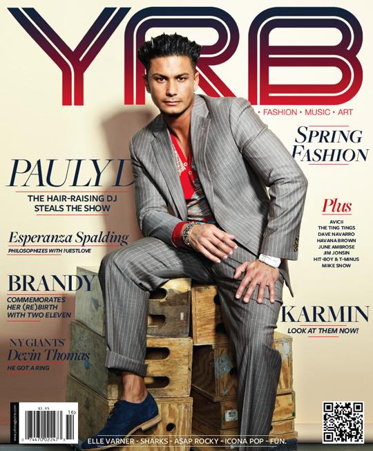 PaulyD cover - YRB x PAULY D