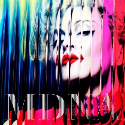 madonna mdna cover - Madonna Drops Entirely Web-Promoted MDNA