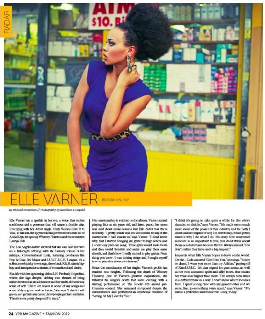 """ElleRadar 540x649 - Music Video: Elle Varner - """"Refill"""""""