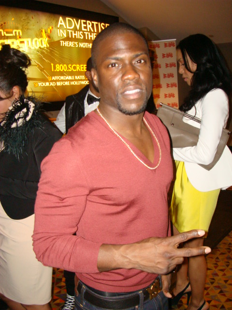 "TLAM Kevin Hart at TLAM Premiere - ""Think Like a Man"" Makes Promotional Stop in NYC"