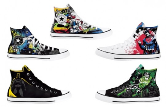 dc comics converse chuck taylor 540x351 - @Converse Chuck Taylor All-Stars- A history of the best sneaker of all time! by @JonnNubian #ChuckTaylor