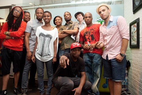 Artists Group Shot - Event Recap: In 55 Words (Hosted by Mickey Factz)