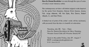 DeusEx NYC 7.28 - DEUS EX: HUMAN REVOLUTION Art Exhibit