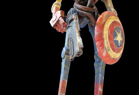 """keithing popbot3 - Keithing """"Captain America"""" Popbot"""