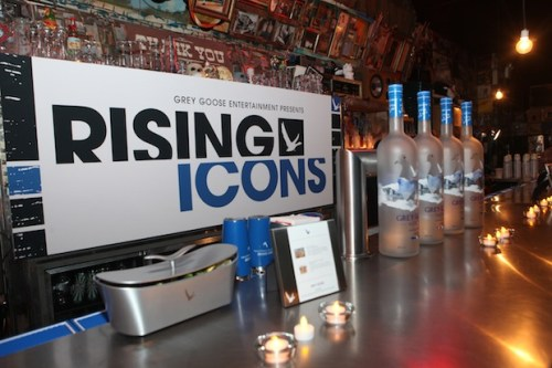 BarSetup - Grey Goose Entertainment presents Rising Icons