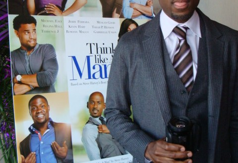 "TLAM Romany Malco at TLAM Press Reception - ""Think Like a Man"" Makes Promotional Stop in NYC"