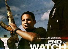 "220px End of Watch Poster - Jake Gyllenhaal's ""End of Watch"""