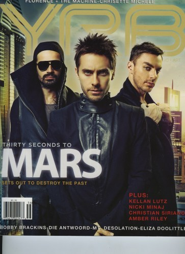 Issue 106 Year In Review Thirty Seconds To Mars - Print Magazine Covers 1999-2018