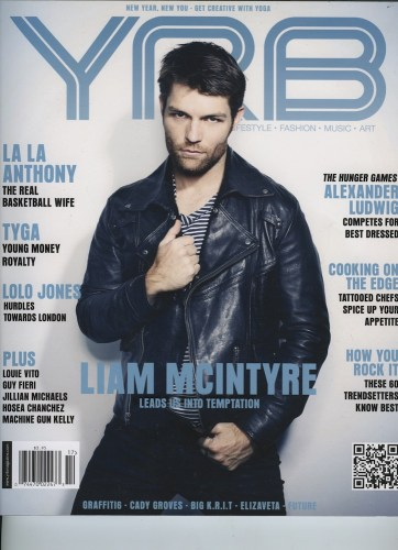 Issue 301 Health Issue Liam Mcintyre  - Print Magazine Covers 1999-2018
