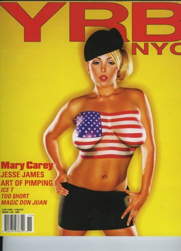 Issue 35 Art Mary Carey - Print Magazine Covers 1999-2020