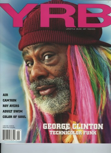 Issue 42 Colors George Clinton - Print Magazine Covers 1999-2020